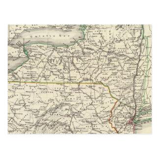 New York, Pennyslvania, and New Jersey Postcard