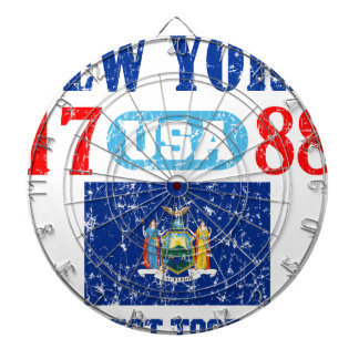 NEW YORK PERFECT TOGETHER DISTRESSED PRODUCTS DART BOARDS
