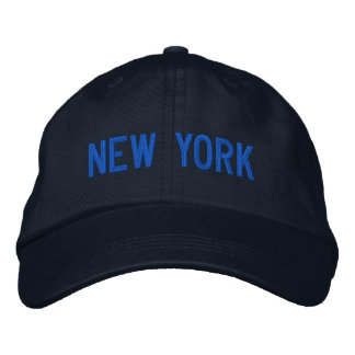New York Personalized Adjustable Hat