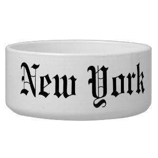 New York Dog Bowls
