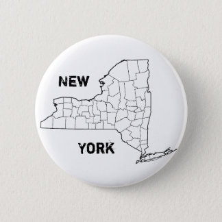 New York Pinback Button