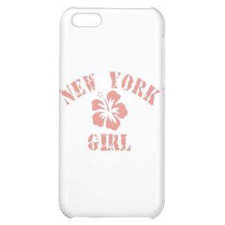 New York Pink Girl iPhone 5C Covers