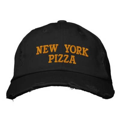 NEW YORK PIZZA BASEBALL CAP