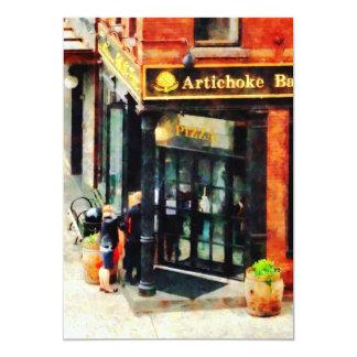 New York Pizzeria Card