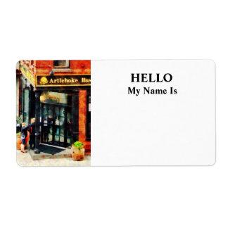New York Pizzeria Label