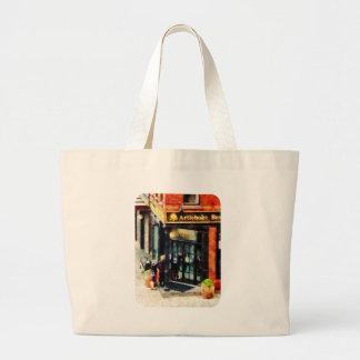 New York Pizzeria Large Tote Bag