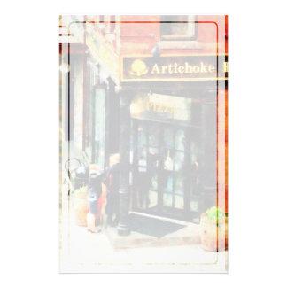 New York Pizzeria Stationery