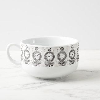 New York Pocket Watch Soup Mug