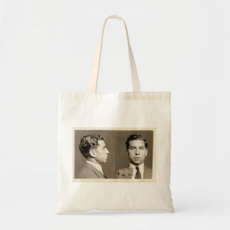 "New York Police Mugshot Charles ""Lucky"" Luciano Canvas Bags"