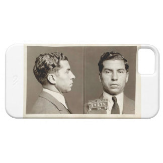 """New York Police Mugshot Charles """"Lucky"""" Luciano iPhone 5 Cover"""