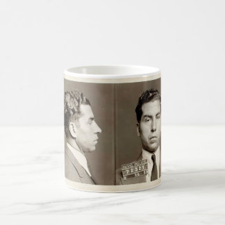 "New York Police Mugshot Charles ""Lucky"" Luciano Coffee Mug"