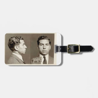 "New York Police Mugshot Charles ""Lucky"" Luciano Luggage Tags"