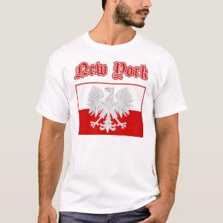 New York Polish Flag T-Shirt