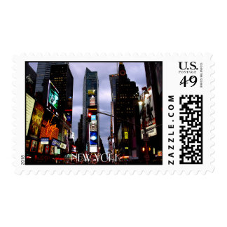 New York Postage Stamp Times Square NY City Stamps