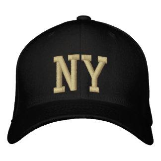 New York Postal Code Baseball Cap (Black/Gold)