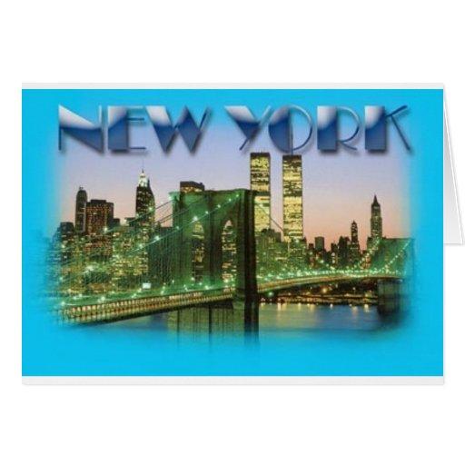 NEW YORK POSTCARD.JPG GREETING CARD