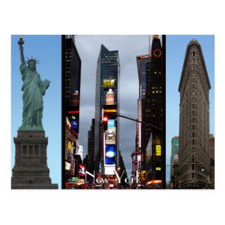 New York Postcard New York Landmark Souvenir Cards