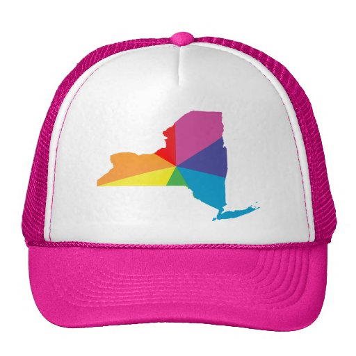 new york pride. trucker hat