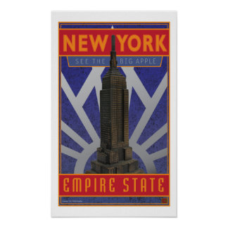 New York-Print Poster