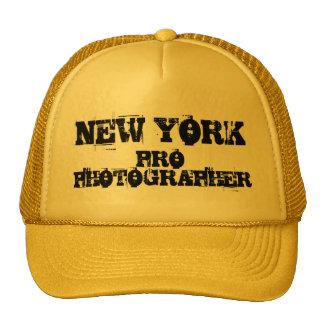 NEW YORK PRO PHOTOGRAPHER Hat
