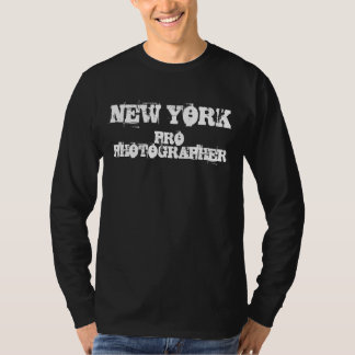NEW YORK PRO PHOTOGRAPHER Long Sleeve Shirt
