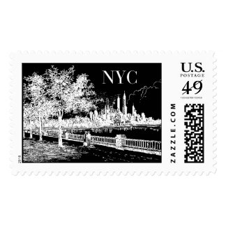New York Promenade | Atelier Isabey Stamps