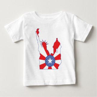 new york puerto rico symbol merged baby T-Shirt