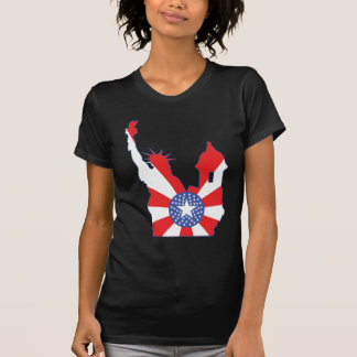 new york puerto rico symbol merged T-Shirt