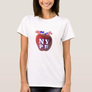 New York Puerto Rico symbols merged T-Shirt