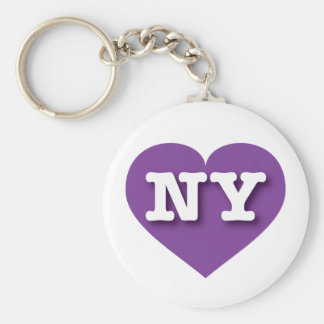 New York Purple Heart - Big Love Keychain