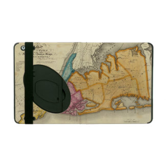 New York, Queens, Kings, Richmond counties iPad Case