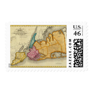 New York, Queens, Kings, Richmond counties Postage Stamps
