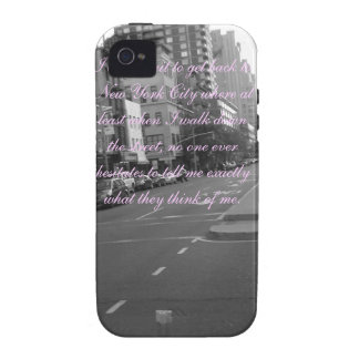 New York Quote iPhone 4/4S Covers