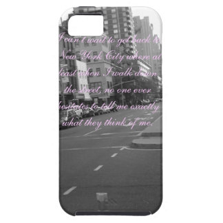 New York Quote iPhone SE/5/5s Case