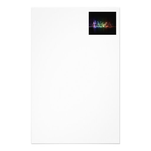 New York Rainbow collection Stationery Paper