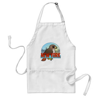 New York Red-tailed Hawk Adult Apron