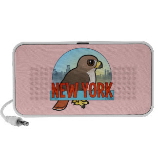 New York Red-tailed Hawk iPod Speakers