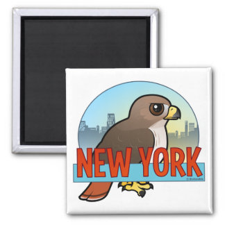 New York Red-tailed Hawk Magnet