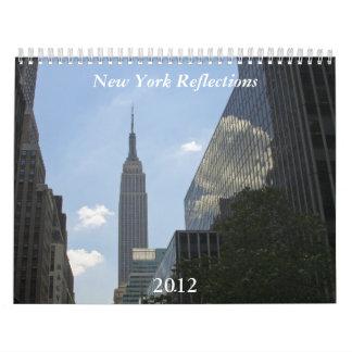 New York Reflections Calendar