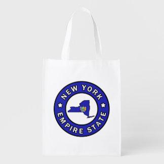 New York Reusable Grocery Bag