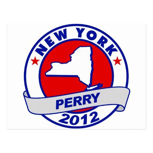 New York Rick Perry Postcard