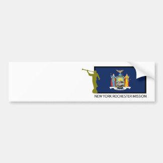 NEW YORK ROCHESTER MISSION LDS CTR CAR BUMPER STICKER