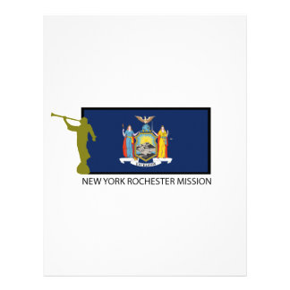 NEW YORK ROCHESTER MISSION LDS CTR PERSONALIZED LETTERHEAD