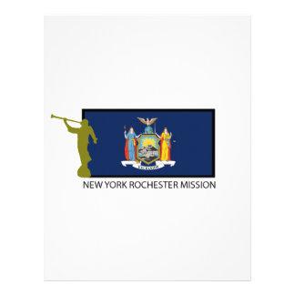 NEW YORK ROCHESTER MISSION LDS CTR CUSTOM LETTERHEAD