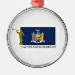NEW YORK ROCHESTER MISSION LDS CTR METAL ORNAMENT