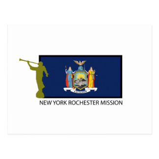 NEW YORK ROCHESTER MISSION LDS CTR POSTCARD