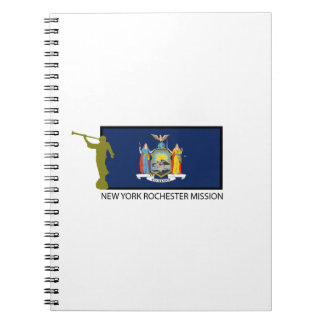NEW YORK ROCHESTER MISSION LDS CTR SPIRAL NOTEBOOK