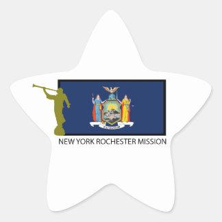 NEW YORK ROCHESTER MISSION LDS CTR STAR STICKER