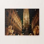 New York Rockefeller Center Puzzle - Christmas
