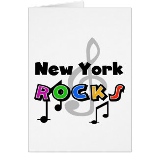New York Rocks Card